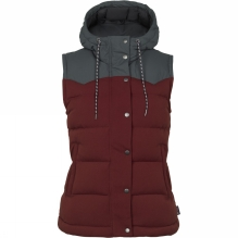 Womens Bivy Hooded Down Vest