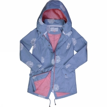 Womens Printed Parka