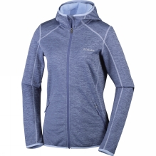 Womens Sapphire Trail Hooded Full Zip Fleece