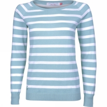 Womens Stripe Knitted Jumper