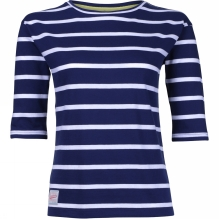 Womens Stripe 3/4 Sleeve Tee