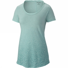 Womens Ocean Fade Shorts Sleeve Tee