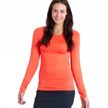 Womens Sol Cool Long Sleeve Top