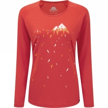 Womens Crystalline Long Sleeve Tee