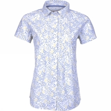 Womens Floral Short Sleeve Shirt