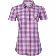 Womens Short Sleeve Check Shirt