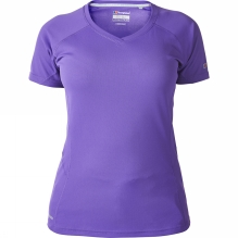 Womens Short Sleeve V Neck Technical T-Shirt