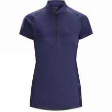 Women's Kapta Short Sleeve Zip Neck