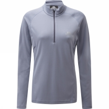 Womens Spectrum Long Sleeve Zip Tee
