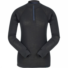 Womens Long Sleeve Zip Top