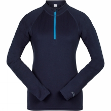 Womens Performance Base Layer Long Sleeve Zip Top