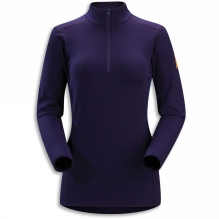 Womens Phase SV Long Sleeve Zip Neck