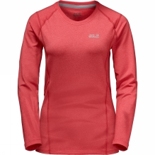 Womens Silver Sky Long Sleeve Top