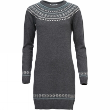 Women Fairisle Hem Dress
