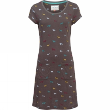 Womens Scoop Neck Dress