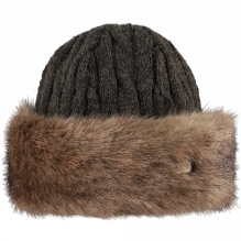 Womens Fur Cable Bandhat