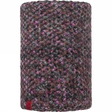 Knitted and Polar Fleece Neckwarmer Patterned