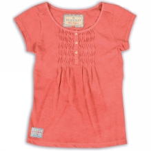 Womens Pleated Tee