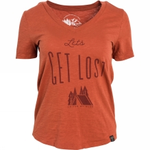 Womens Lets Get Lost Tee