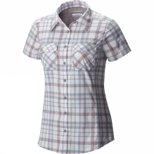 Womens Saturday Trail III Plaid Short Sleeve Shirt