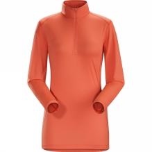 Womens Phase SL Long Sleeve Zip Neck