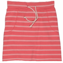 Womens Jersey Striped Skirt