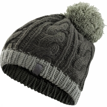 Cable Pom Pom Hat