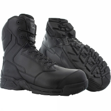 Mens Stealth Force 8.0 Waterproof Side Zip Composite Toe and Plate Boot