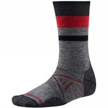 PhD Outdoor Medium Pattern Crew Socks