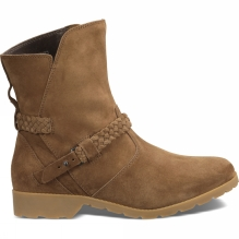 Womens De La Vina Suede Low Boot