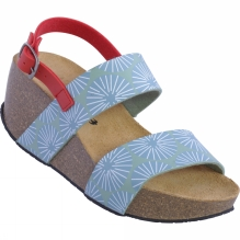 Womens Pop Mid Wedge Sandal