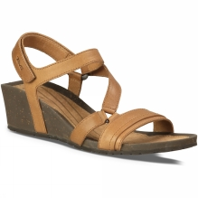 Womens Cabrillo Crossover Wedge Sandal