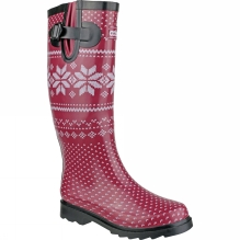 Womens Fairisle Wellington