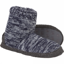 Knitted Cuff Slipper