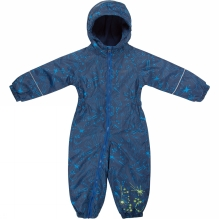 Kids Printed Splat Rain Suit
