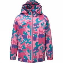 Kids Vinga Animal Camo Rain Jacket