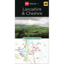 50 Walks in Lancashire and Cheshire