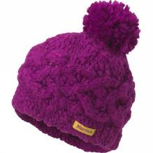 Girls Chunky Pom Hat