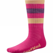 Kids Striped Hike Light Crew Sock