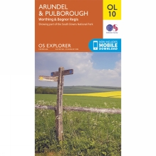 Explorer Map OL10 Arundel and Pulborough