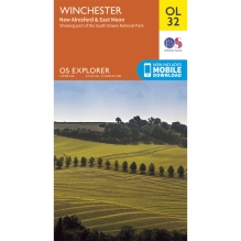 Explorer Map OL32 Winchester, New Alresford and East Meon