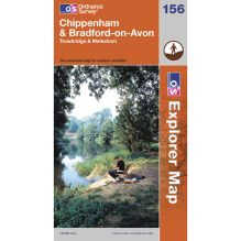 Explorer Map 156 Chippenham and Bradford-on-Avon