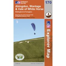 Explorer Map 170 Abingdon, Wantage and Vale of White Horse