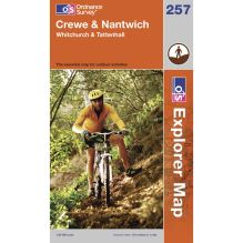 Explorer Map 257 Crewe and Nantwich