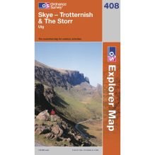 Explorer Map 408 Skye-Trotternish and The Storr