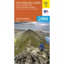 Explorer Map OL5 The Lake District - North-Eastern Area