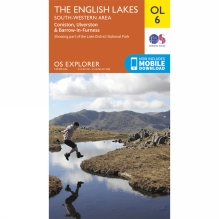 Explorer Map OL6 The Lake District - South-Western Area