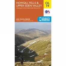 Explorer Map OL19 Howgill Fells and Upper Eden Valley