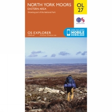 Explorer Map OL27 North York Moors - Eastern Area