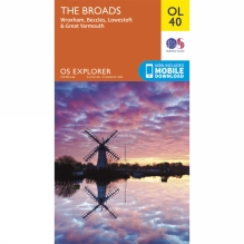 Explorer Map OL40 The Broads